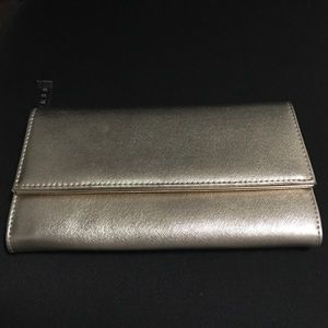 Gold GUESS Clutch Wallet Brand New